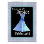Sobrina - el boda menor de la dama de honor invita tarjetas