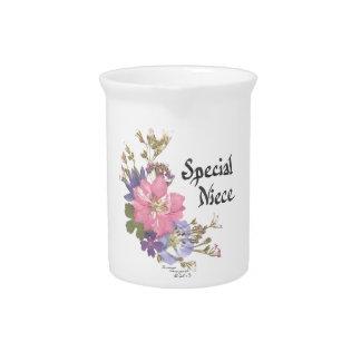 Sobrina especial jarras para bebida
