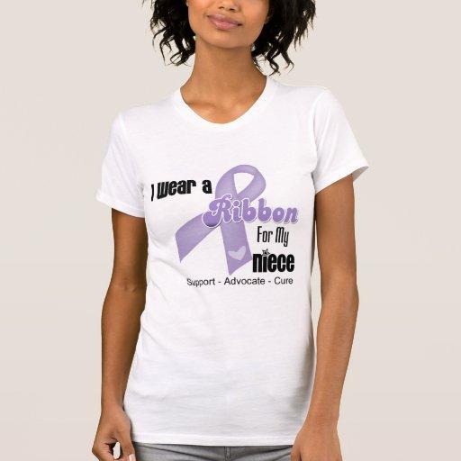 Sobrina - general Cancer Ribbon Camisetas