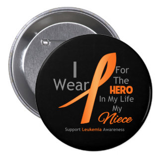 Sobrina - héroe en mi vida - leucemia pins