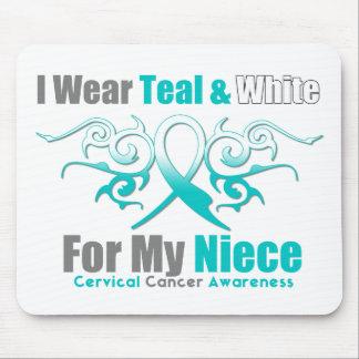 Sobrina tribal de la ayuda de la cinta del cáncer  tapete de ratones