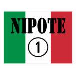 Sobrinas y nietos italianos de los sobrinos: Nipot Tarjetas Postales