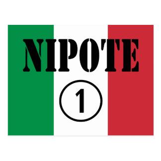 Sobrinas y nietos italianos de los sobrinos: postal