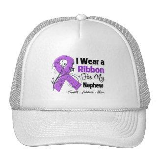 Sobrino - cinta del cáncer pancreático gorros bordados
