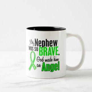 Sobrino de la distrofia muscular del ángel 1 taza dos tonos