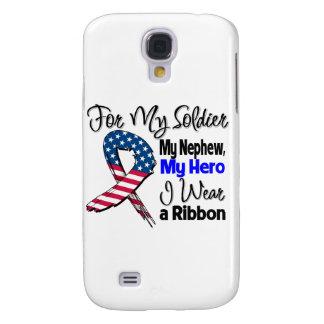 Sobrino - mi soldado, mi cinta patriótica del héro funda para galaxy s4