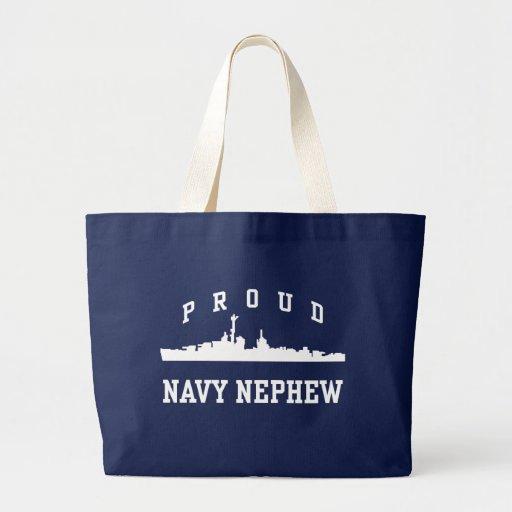 Sobrino orgulloso de la marina de guerra bolsas