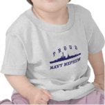 Sobrino orgulloso de la marina de guerra camisetas