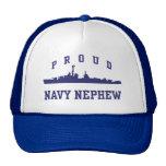 Sobrino orgulloso de la marina de guerra gorras
