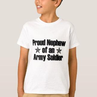 Sobrino orgulloso del ejército playera