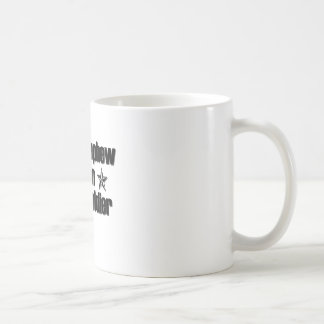 Sobrino orgulloso del ejército tazas de café
