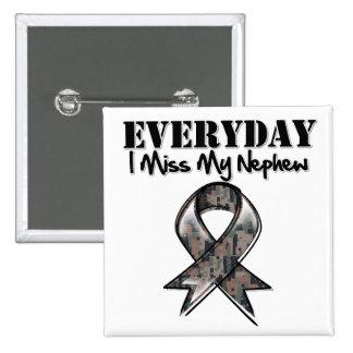 Sobrino - Srta. diaria My Hero Military de I Pin Cuadrado
