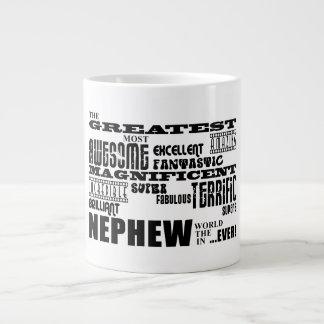 Sobrinos divertidos de la diversión moderna fresca taza grande