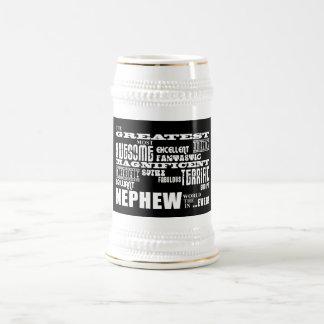 Sobrinos divertidos de la diversión moderna jarra de cerveza