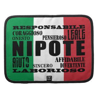 Sobrinos y nietos italianos: Calidades Planificadores