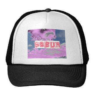 Sobur pink cloud shirt mesh hats