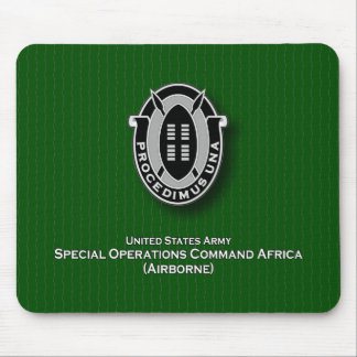 SOC Africa DUI Mouse Pad