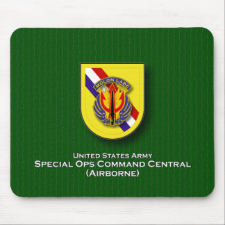 SOC Central flash Mouse Pad
