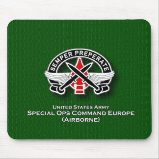 SOC Europe DUI Mouse Pad