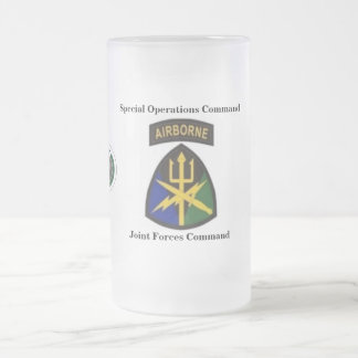 SOC - Joint Forces Command Frosted Mug