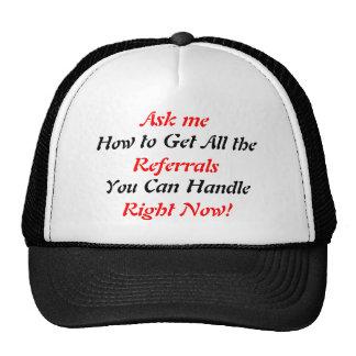 SOC que prospecta el gorra