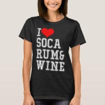 Soca celebrations carnival rum T-Shirt