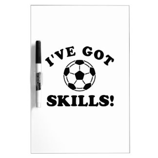 soca skills  Vector Designs Dry-Erase Whiteboard