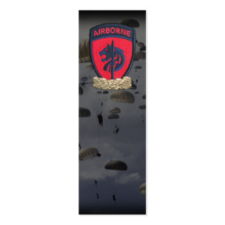 SOCAFRICA special ops africa patch bookmarkers Double-Sided Mini Business Cards (Pack Of 20)