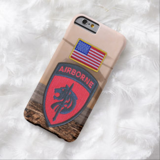 SOCAFRICA Special ops AFRICOM Veterans Vets Patch Barely There iPhone 6 Case
