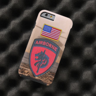 SOCAFRICA Special ops AFRICOM Veterans Vets Patch Tough iPhone 6 Case