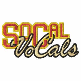 SoCal VoCals Logo Embroidered Zip Hoodie