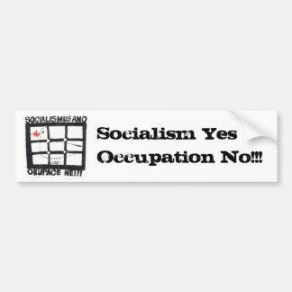 SocAnoOkNe public domain Bumper Sticker
