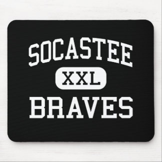 Socastee - Braves - High - Myrtle Beach Mouse Pad