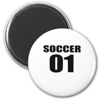 Soccer 01 Birthday Designs Magnet