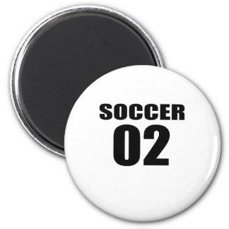Soccer 02 Birthday Designs Magnet