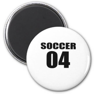 Soccer 04 Birthday Designs Magnet