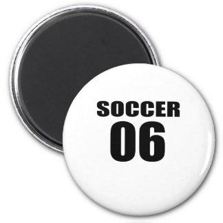 Soccer 06 Birthday Designs Magnet