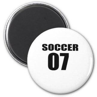 Soccer 07 Birthday Designs Magnet