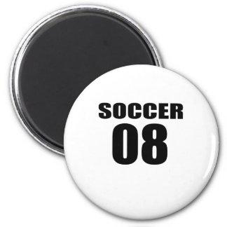 Soccer 08 Birthday Designs Magnet