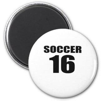 Soccer 16 Birthday Designs Magnet
