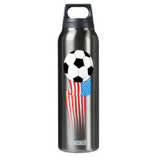Soccer 16 Oz Insulated SIGG Thermos Water Bottle