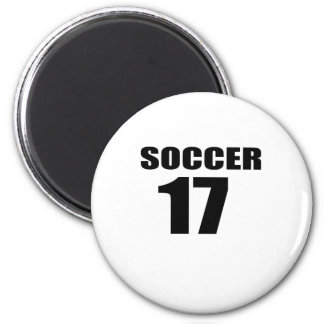 Soccer 17 Birthday Designs Magnet