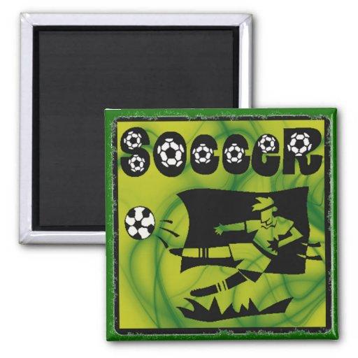 SOCCER 1 Magnet Fridge Magnet
