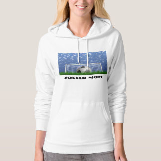 Soccer #1 Mom Awesome Outstanding Love My Mom Hoodie