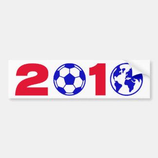 Soccer 2010 car bumper sticker