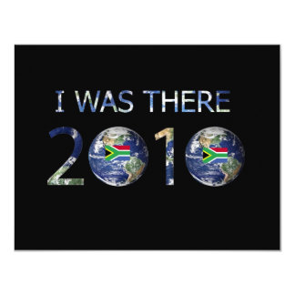 SOCCER 2010 - I WAS THERE CARD