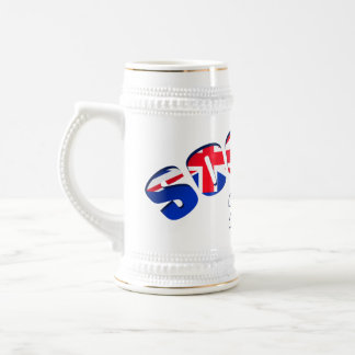 Soccer 2010 New Zealand football gifts Beer Stein