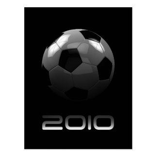 Soccer 2010 postcard