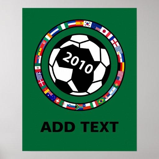 Soccer 2010 poster