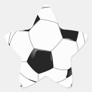 Soccer 2014  1523 star sticker